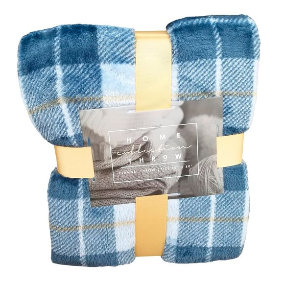 Home Collection Other - 🆕Home Collection Flannel Plaid Throw Blanket